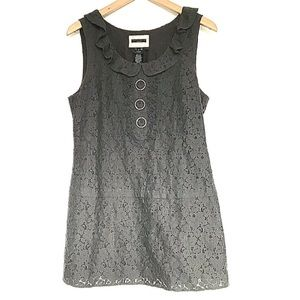 Anthropologie Sanctuary Lace Mini Dress W/lining